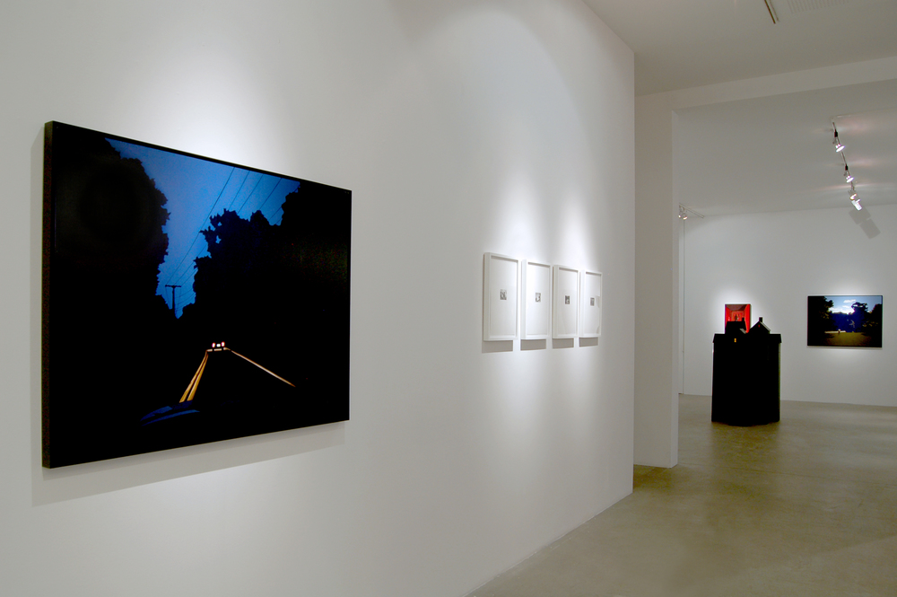 Dusk Til Dawn , Installation View, Front Room To Back Room