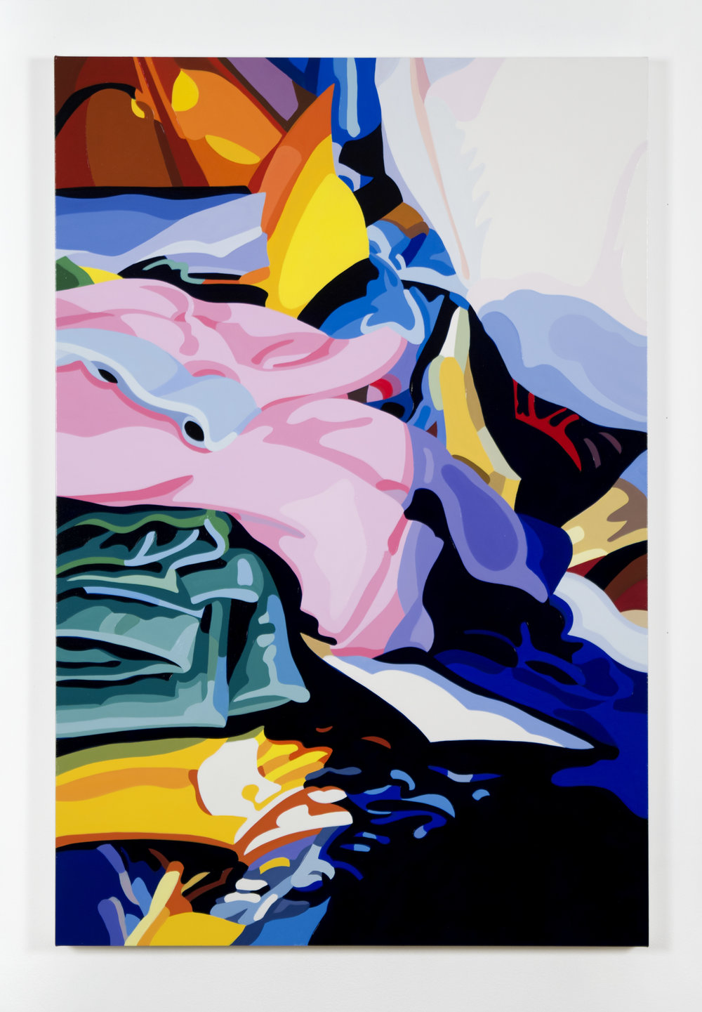 "Ed No. 3, 2017, 36"" x 24"", Oil on Linen"