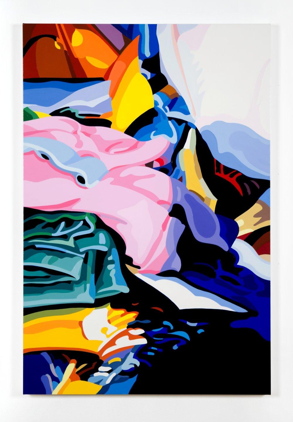 "Edward No. 3  2017,  36"" X 24"", oil on linen"