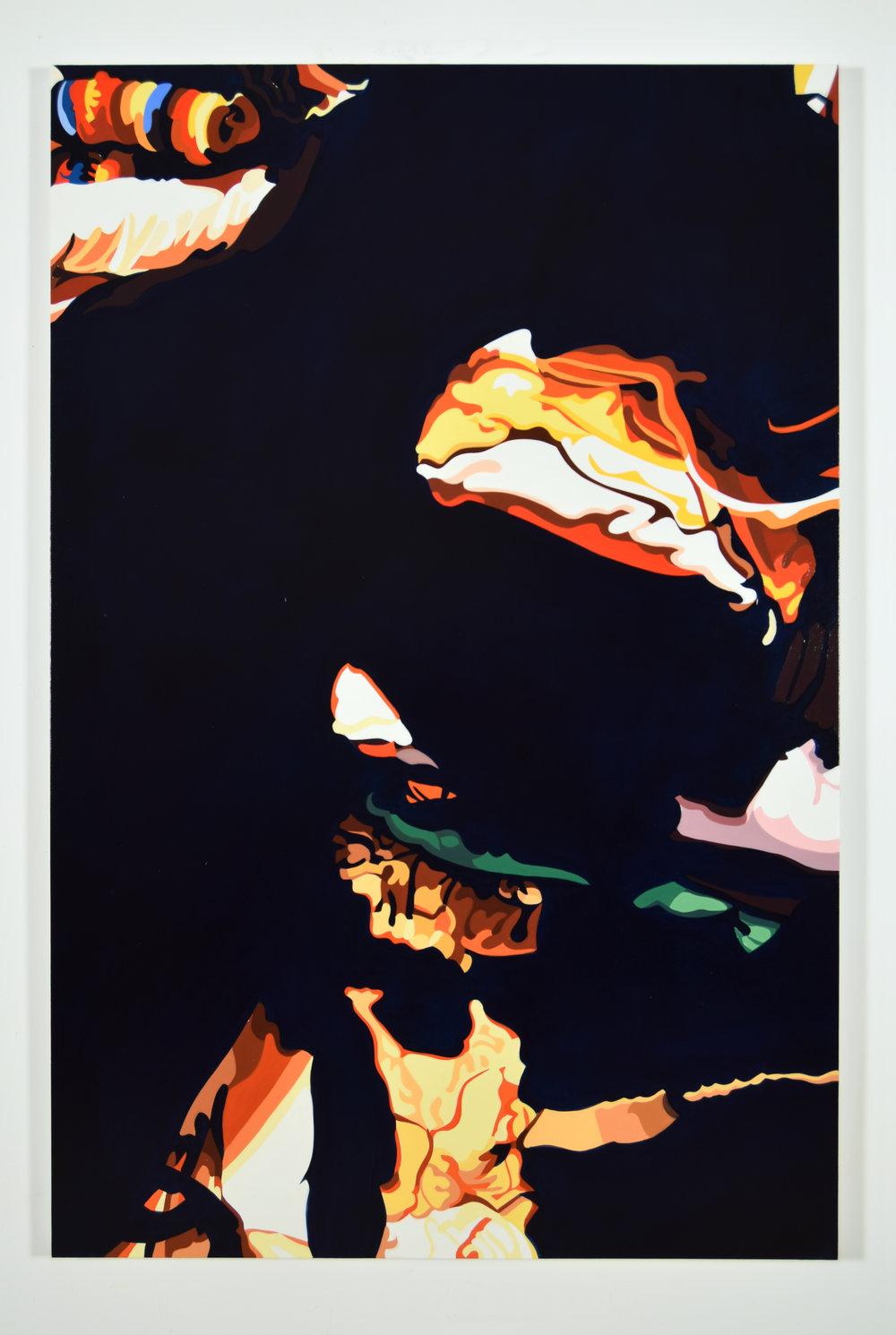 "Edward No. 1 2016,  60"" x 40"", oil on linen"