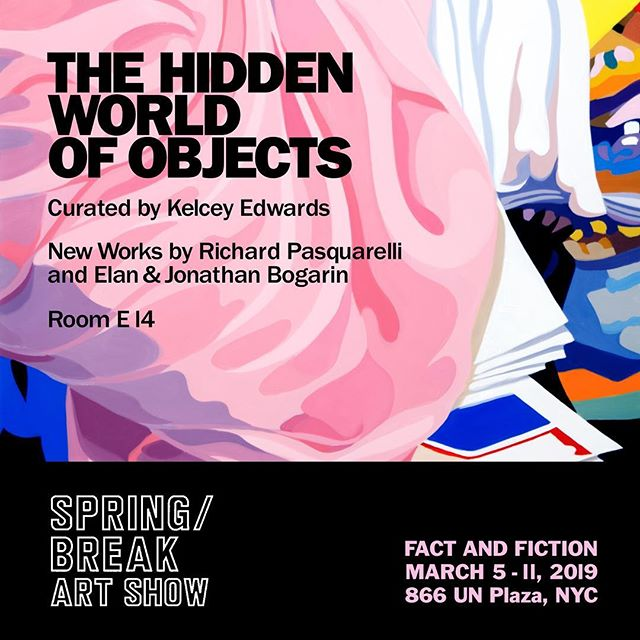 """Hope to see you at SPRING/BREAK Art Show """"Fact and Fiction"""" opening this week! #springbreakartshow2019 @irongateeast @springbreakartshow tickets available at www.springbreakartshow.com"""