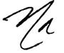 Natalie Alvarado signature