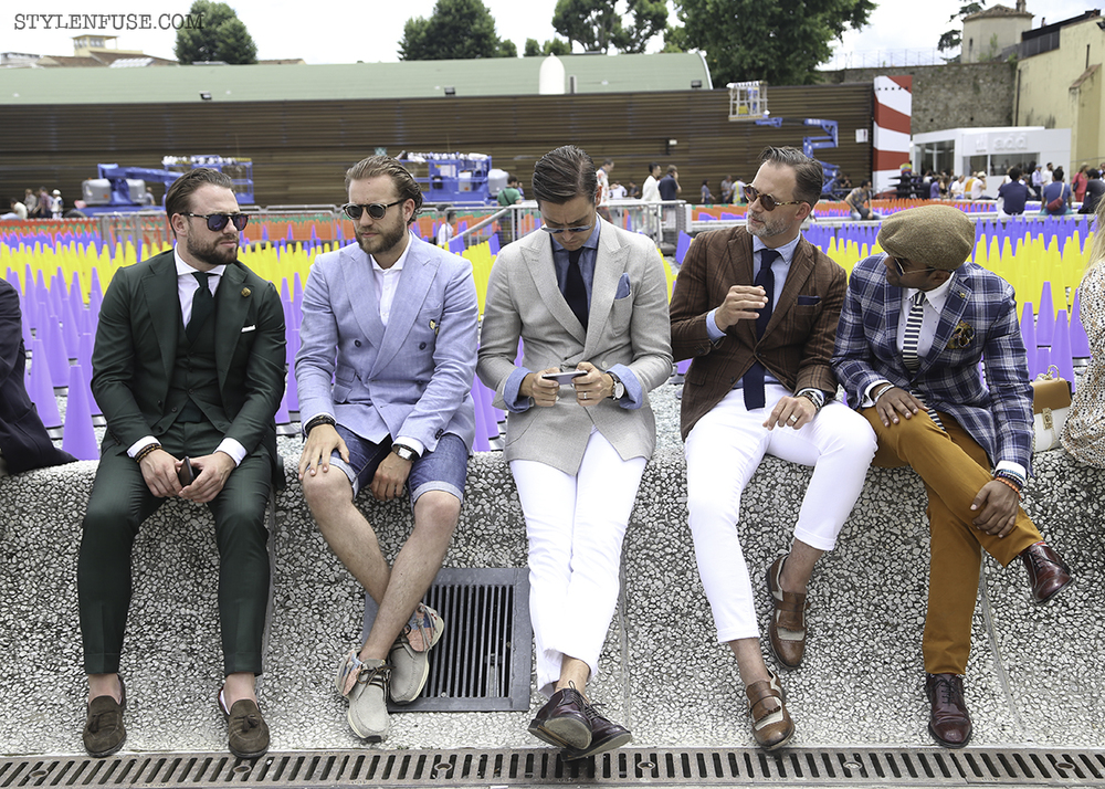 Pitti Uomo Florence Italy | photo by Natalie Alvarado | Gentlemen