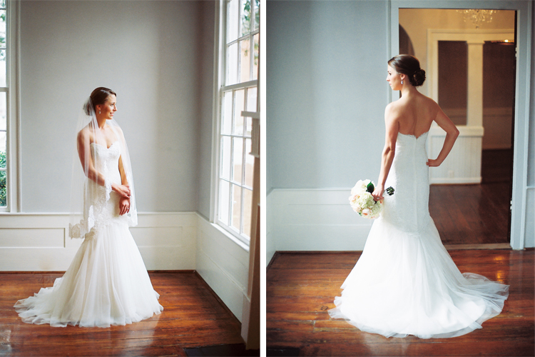 Bridal Portraits at Mims House