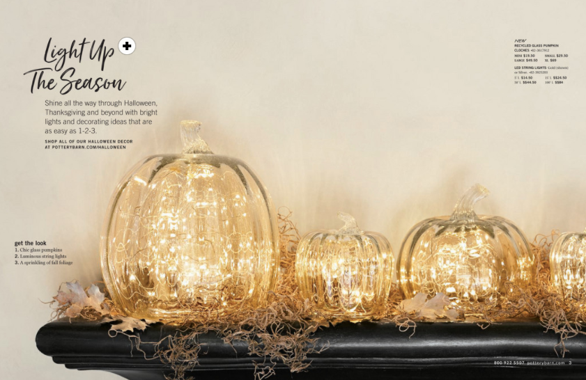 Check out how to get this look from the  Pottery Barn  catalog - it's so magical, it reminds me of Cinderella's carriage.