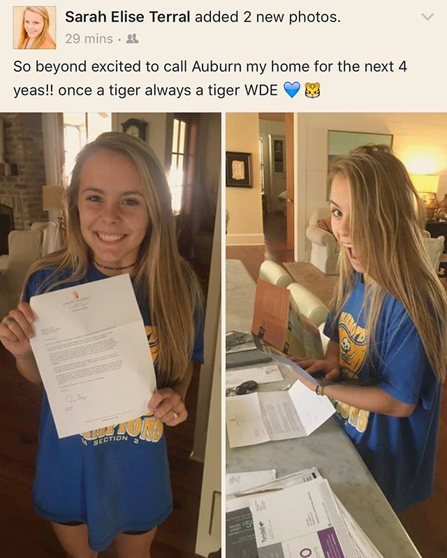 Looks like our 2016 Junior Designer Scholarship Recipient has picked her school! Congrats Sarah, you are everything and we are so proud of you! 🎉#juniordesigner #wde 🐅🔶🔷