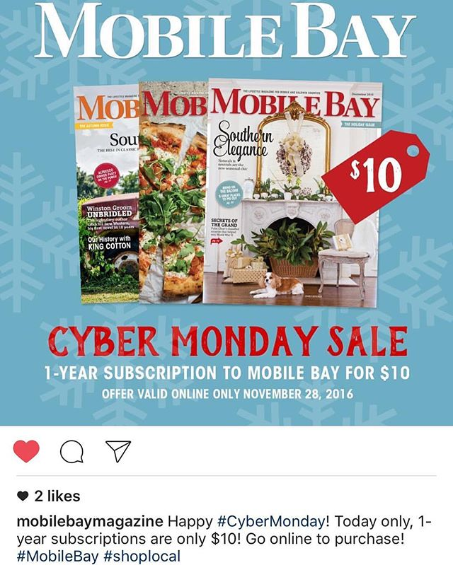 We know the first thing we are ordering on #cybermonday!
