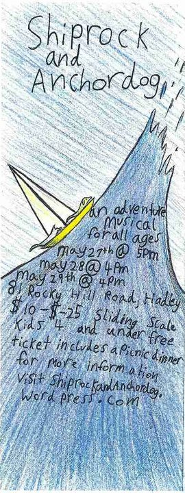 A flyer from our first rock musical in 2011, which featured an ensemble cast of local kids.