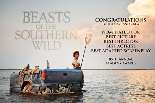 Beasts Oscars