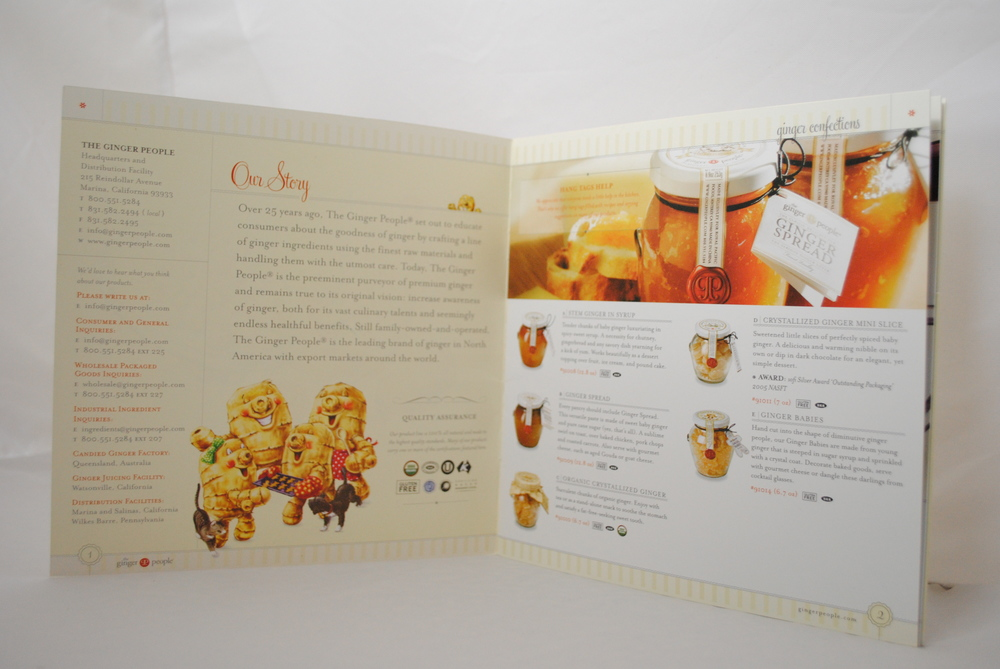 Ginger People Brochure