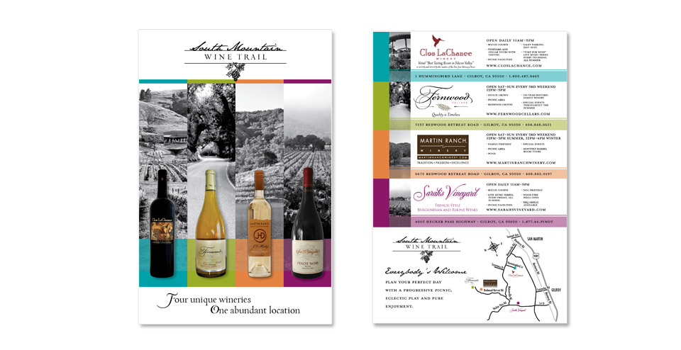 South Mountain Wine Trail Postcard