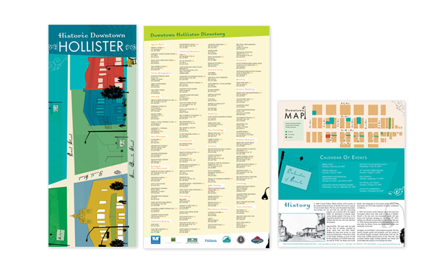 Downtown Hollister Brochure