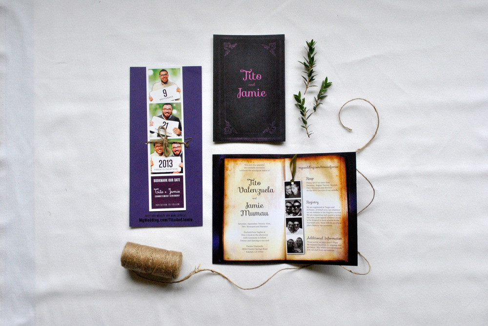 Tito + Jamie Invitation Suite