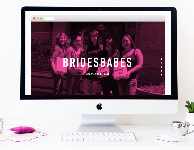 Rita + Sean Wedding Website - Bridesbabes
