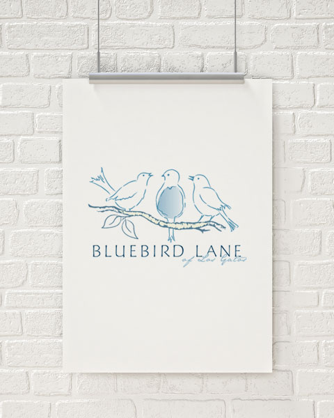 Bluebird Lane of Los Gatos Logo