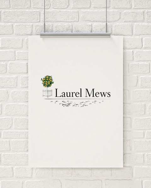 Laurel Mews Logo