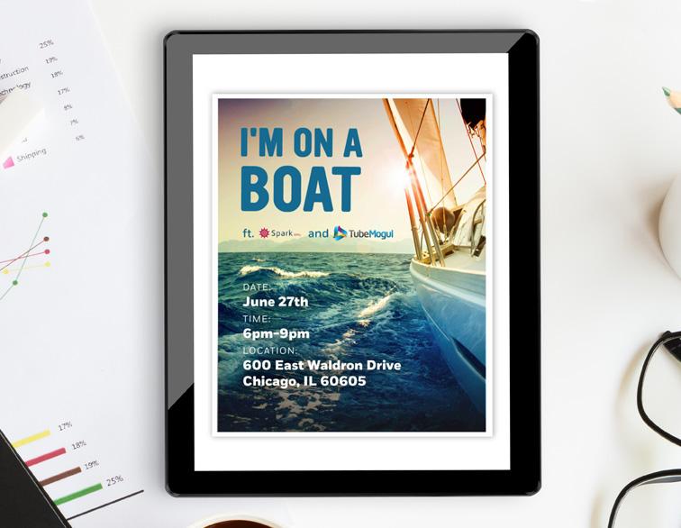 Tube Mogul Email Invite - Boat