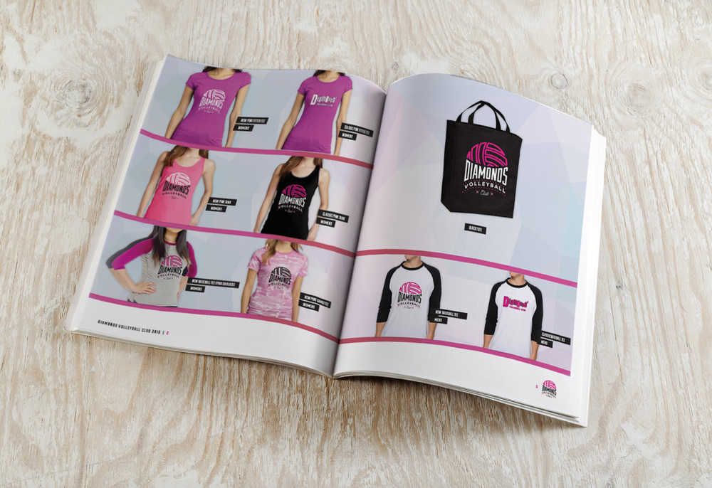 Diamonds Volleyball Club Catalog