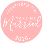 Featured in Make Me Married for wedding invitations, decor, planning, wedding-day-of stationery and so much more! View the whole blog  here !