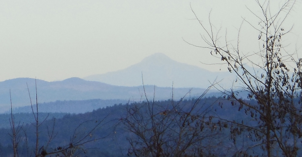 Mt. Layfayette and the Franconia Range from Mill's Hill