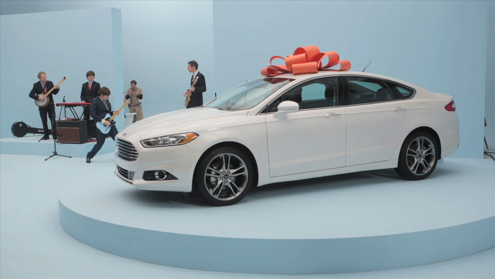 Reasons to Love Fusion digital Campaign / ford