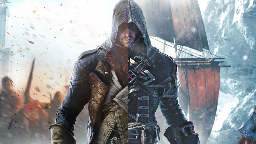 Assassin's creed Unity & Rogue Digital Campaign / Ubisoft