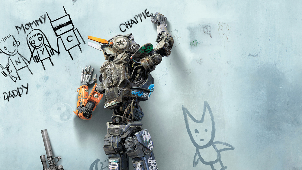 Chappie Facebook App / sony pictures