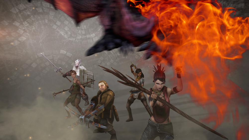 HEROES OF DRAGON AGE APP TRAILER / EA MOBILE