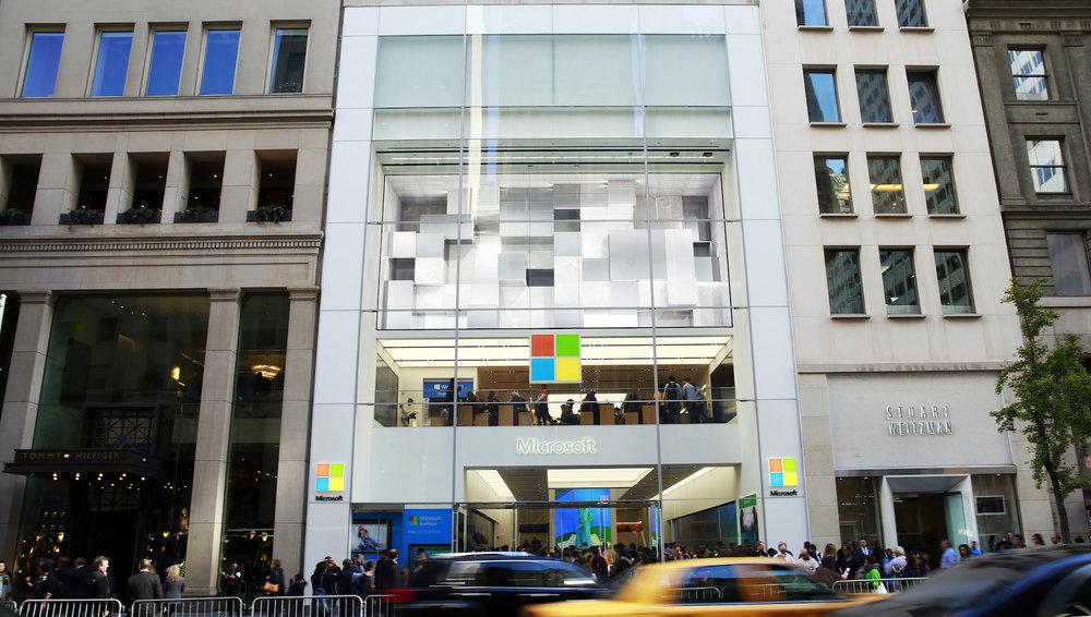 NYC Anthem & RETAIL Content / Microsoft