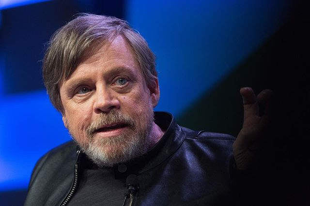 "Mark Hamill reflected on his time working on The Last Jedi during a panel discussion at the South By Southwest festival in Austin, Texas on Mar. 12, 2018. ""The first big disconnect was realizing I'll never work with Harrison Ford again,"" said Hamil. ""And I relished the fact that I got one more scene with Carrie. It was devastating to realize we'll never get the gang back together."" #thastjedi #markhamill #SXSW @sxsw @ozy"