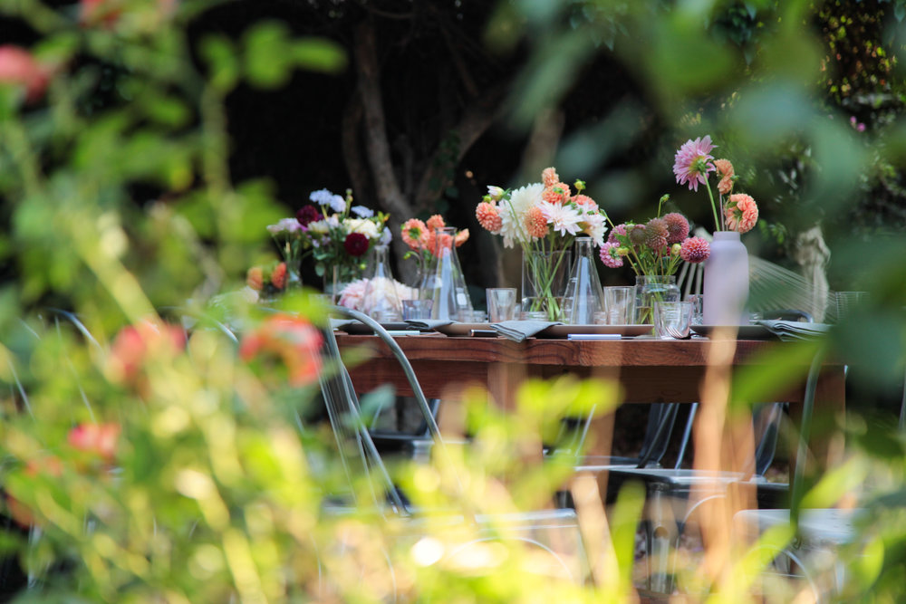 Vin de Jardin: Garden dinner with Marco Pelletier — THE SIP