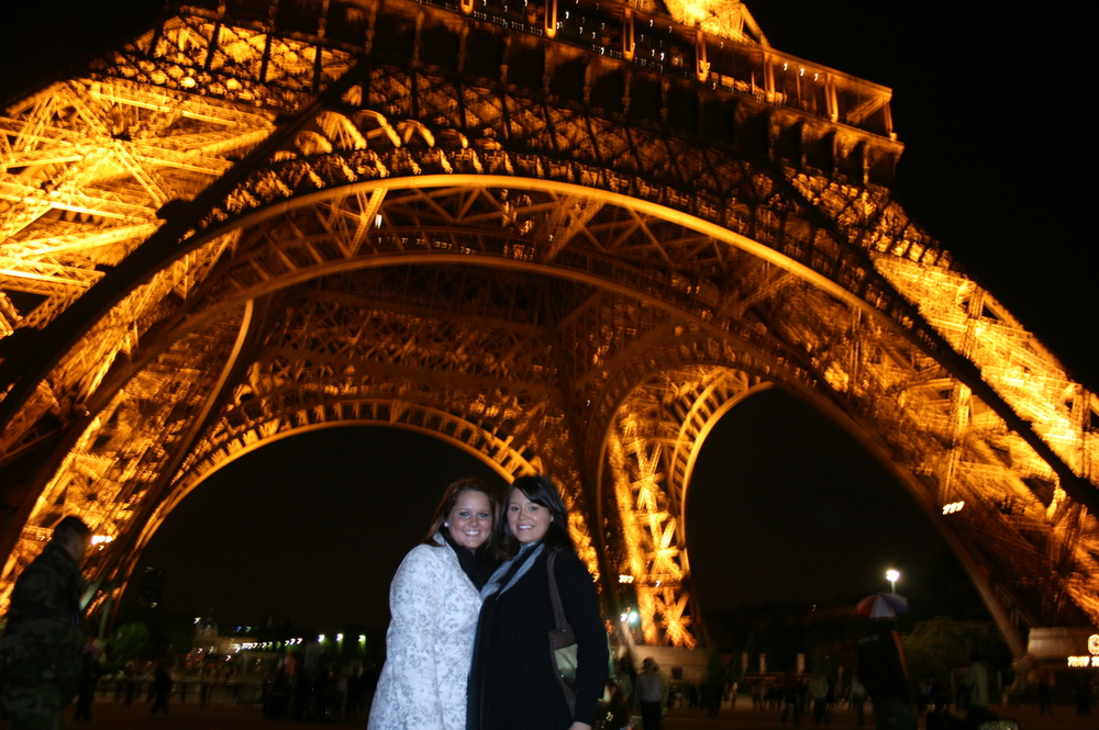 Chelsea and I at the Eiffel Tower during a study abroad trip junior year. Fact: Of the entire study abroad trip, we were the only two who went to the Eiffel Tower. What a missed opportunity for the rest of them...