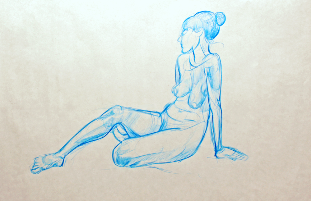 Figure Drawings and Paintings (Ongoing)