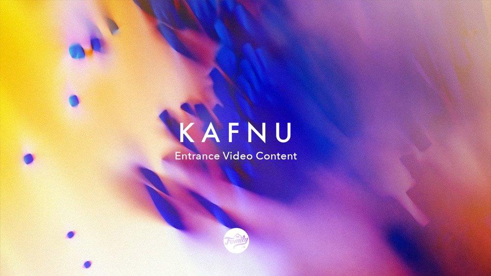 Kafnu Entrance Video Content Proposal (2017)