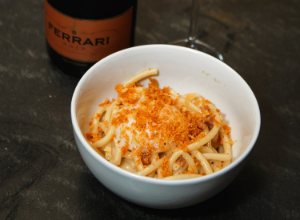 A NGHT WITH FERRARI TRENTO: BUCATINI CARBONARA  Eataly Magazine October 13, 2015