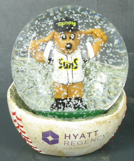 Snow Globe  - Baseball Base