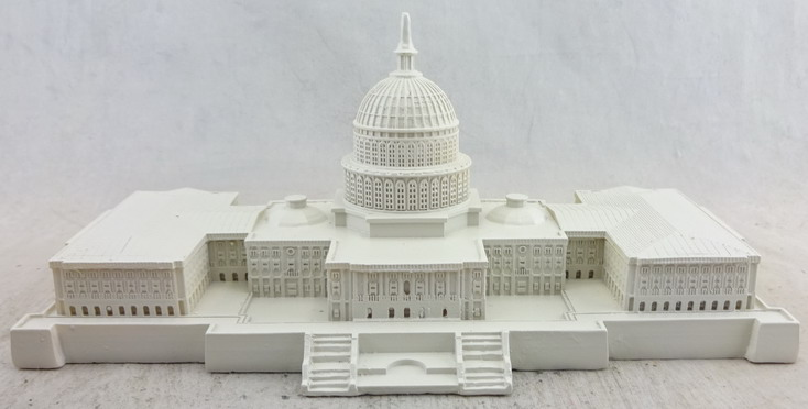 US Capitol Historical Society - Marble Colored Capitol Building 112479, 6.25in Replica (1).jpg