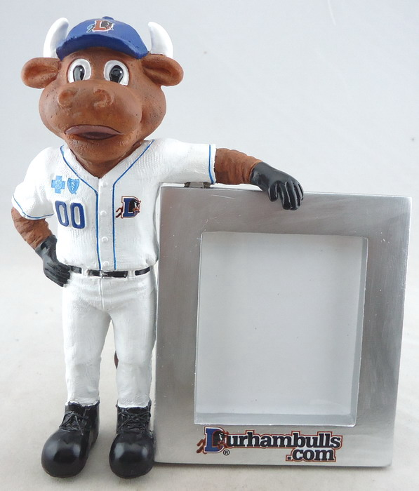 Durham Bulls - Wool E Bull 108693, 5in Photo Frame.JPG