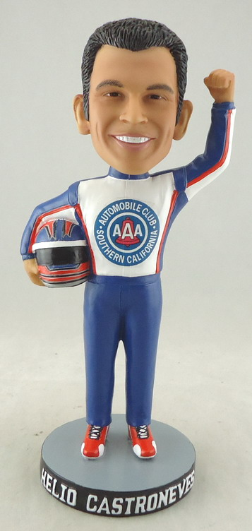 AAA Automobile Club of SoCAL - Helio Castroneves Auto Club 109832, 7in Bobblehead.JPG