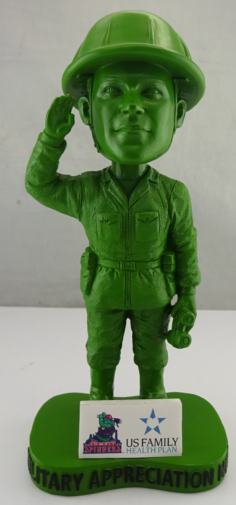 Lowell Spinners - Little Green Army Man 113560, 7in Bobblehead (2).jpg