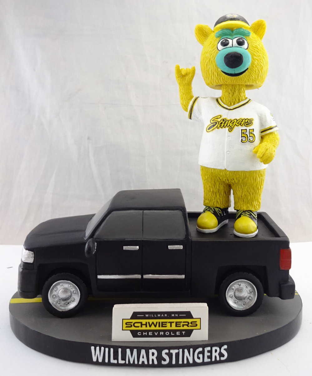 Willmar Stingers, Barry in Truck 113451A, 7in Bobblehead (7).jpg