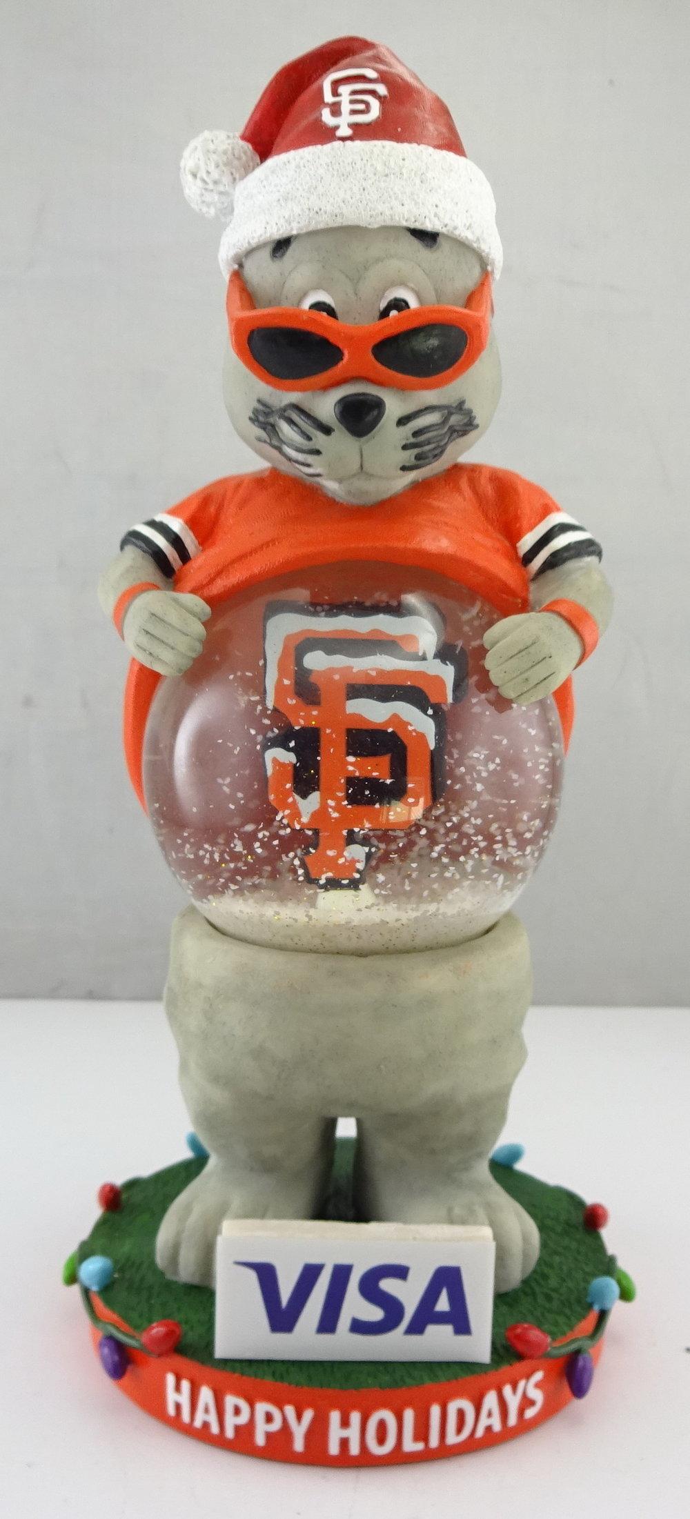 SF Giants - Lou Seal 113777, 7.5in Snowglobe (1).jpg