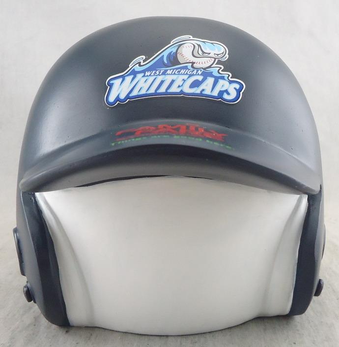 W. Michigan Whitecaps - Batting Helmet Coin Bank 112143.jpg