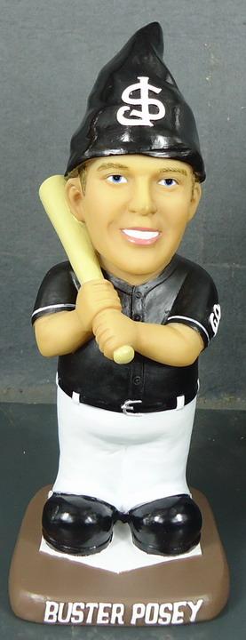 San Jose Giants - Buster Posey 110857, 7inch Gnome.JPG