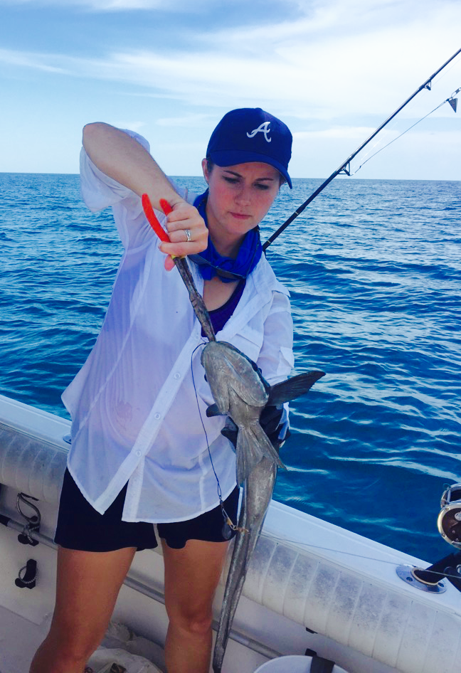 Remora caught 22 miles off the coast of Tampa Bay in the Gulf of Mexico.