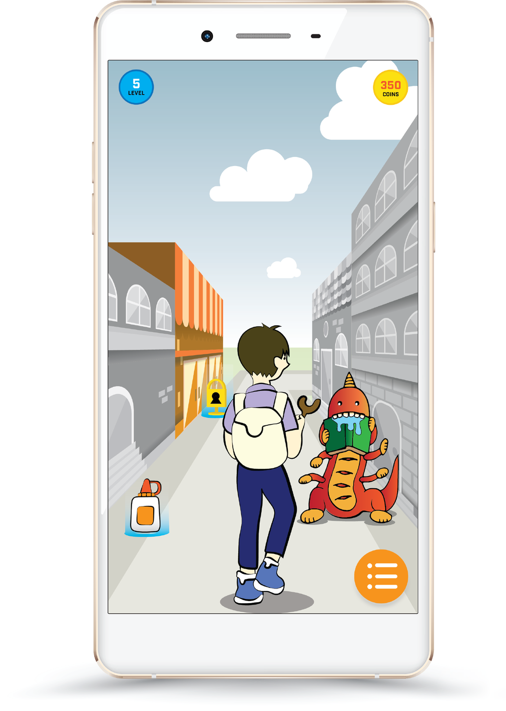 TEENS can be REAL heroes… - Players can find monsters in their neighborhoods and battle the creatures with a slingshot. Monsters represent local community problems related to education, healthcare, the environment, and more.Boss events let you team up with your neighbors to defeat larger community monsters together in real time.