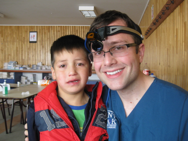 Children in Chile are just as happy to visit the dentist as they are in the US!