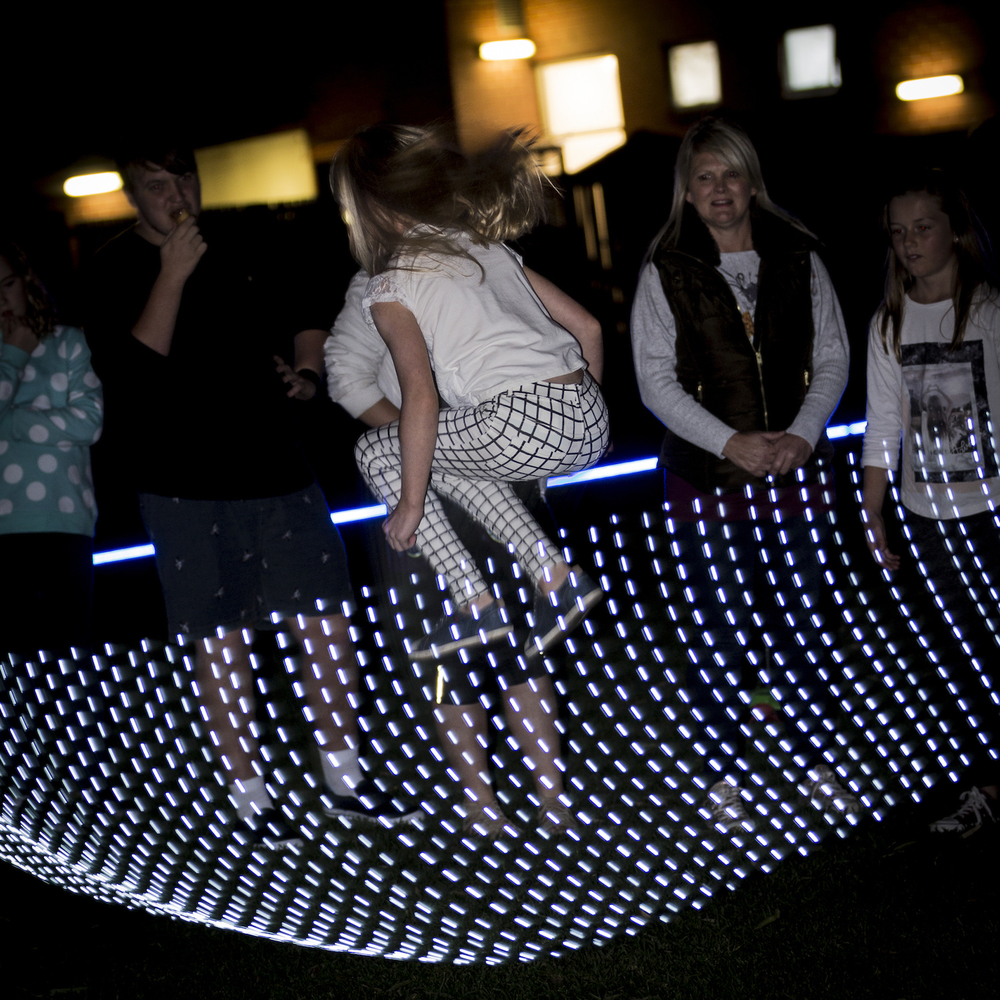 Artist: Ainsley Macaulay, Jump Light; Venue: Custom Lawn; Photographer: Matt Houston