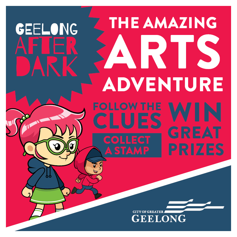 Blog geelong after dark discover geelong after dark through the amazing arts adventure children will love this fun and interactive journey of discovery through central geelong stopboris Choice Image