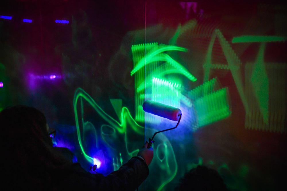 Luniance Lab: Telekinetic. Photograph by Reg Ryan.